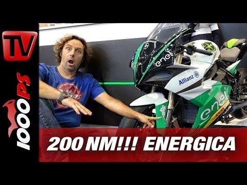 200 Nm und 145 PS Elektro Wahnsinn! - Energica 2019 - EGO, EVA ESSEESSE9 - INTERMOT 2018