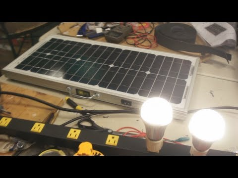 DIY Build Session SOLN1 Portable Solar Power