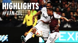 HIGHLIGHTS: Vancouver Whitecaps vs. Colorado Rapids | October 25, 2014