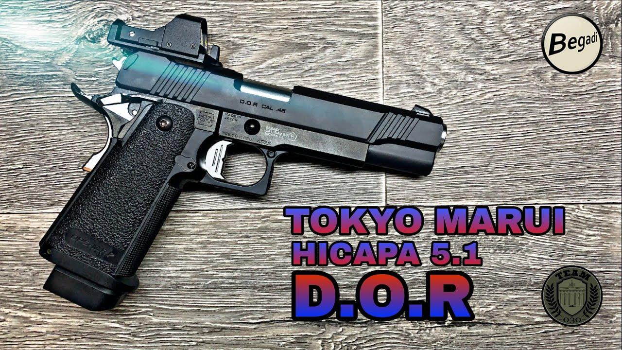 TOKYO MARUI HICAPA 5.1 D.O.R GBB Backup