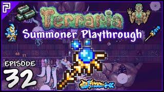 Terraria 1.3.2 Summoner Playthrough | The Stardust Dragon VS Moon Lord! [#32]