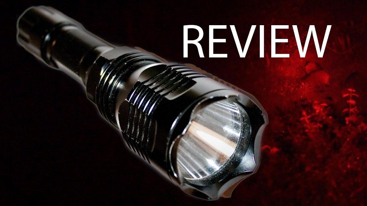 am besten bewerteten neuesten neuer Stil von 2019 gutes Angebot Jagen mit Rotlicht: Review Taschenlampe Pellor Outdoor
