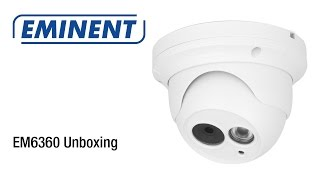 EM6360 CamLine Pro Dome HD IP Camera (Unboxing & Installatie)