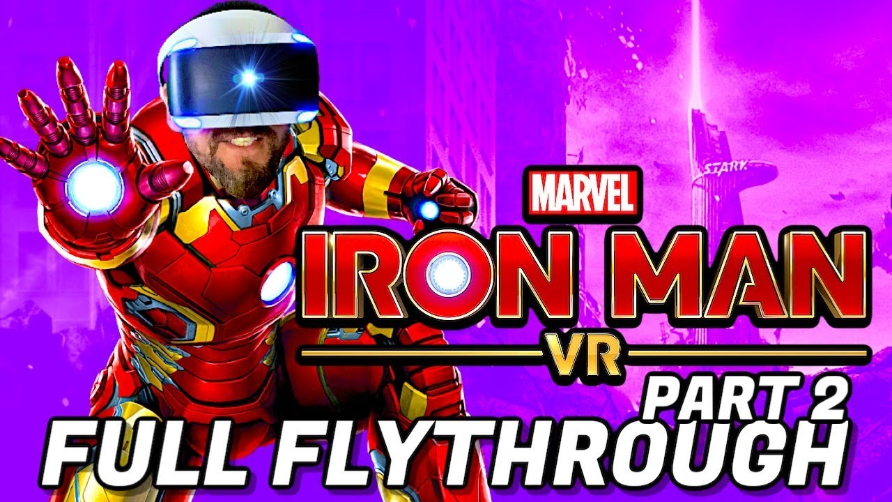 Marvel's Iron Man VR Full Flythrough Part 2 on Playstation VR