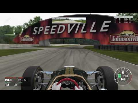 Project CARS F1 Retro 67 SimRacers Club Road America LIVE