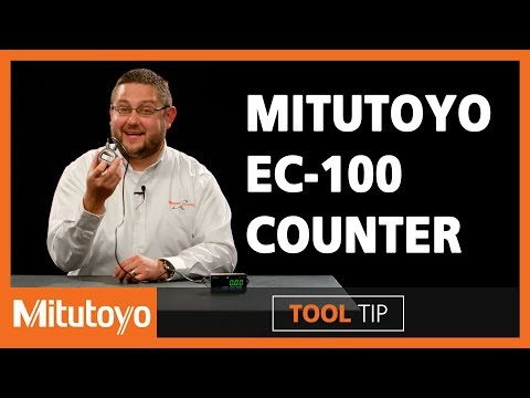EC-100 Counter with SPC Output from Mitutoyo - (Tool Tip 004)