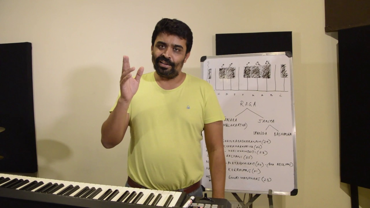 Carnatic Music Lessons for Beginners 2. Melody: Scales : Similarities of Western and Carnatic scales