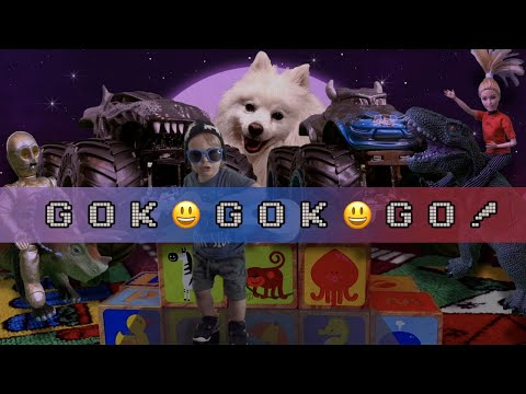 """""""Gok Gok GO!"""" (song My 2 Year Old Made Up)"""