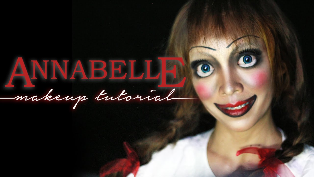 Annabelle Doll Makeup Tutorial