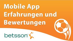 Betsson mobile App Erfahrungen und Bewertung