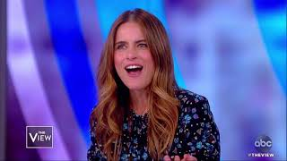 Amanda Peet Explains Why She's Not On Social Media And New Show | The View