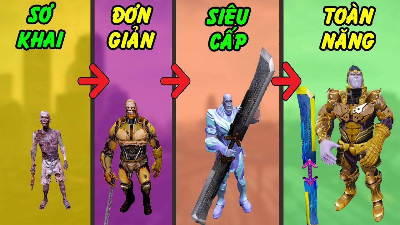 GTA 5 - Tôi trở thành Thanos hủy diệt toàn năng bằng cách tìm 6 viên đá Vô Cực ntn | GHTG