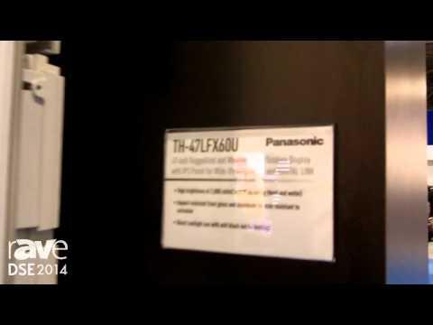 DSE 2014: Panasonic Exhibits TH-47LFX6 Display For Digital Signage