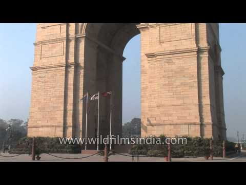 A majestic structure: India Gate