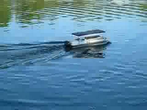 Custom RC Pontoon Boat  YouTube