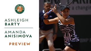 Ashleigh Barty vs Amanda Anisimova - Semi-Final Preview | Roland-Garros 2019