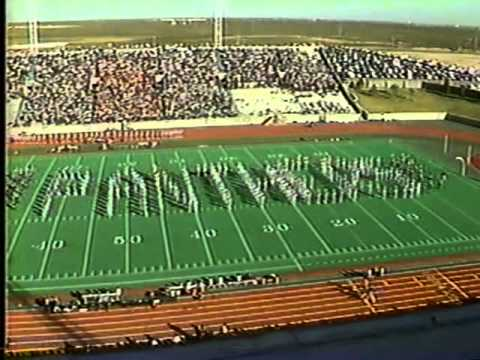 Permian High School Mojo Marching Band Fall 1985