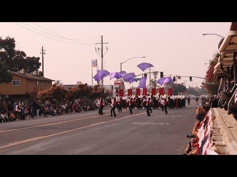 2018 Santa Cruz Marching Band CCBR