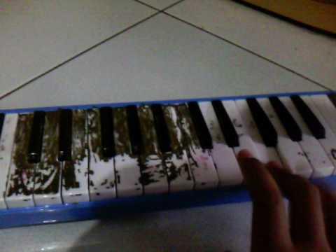 Pianika (the not lagu boneka abdi) danur