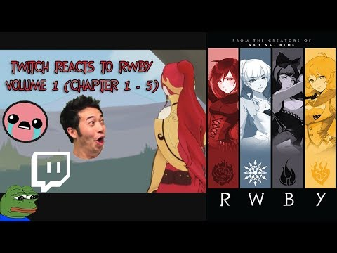 Twitch Chat Reacts to RWBY: Volume 1 (Chapter 1 - 5)