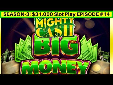 High Limit Mighty Cash BIG MONEY Slot Machine $20 Bet Bonus | Season 3 | EPISODE #14