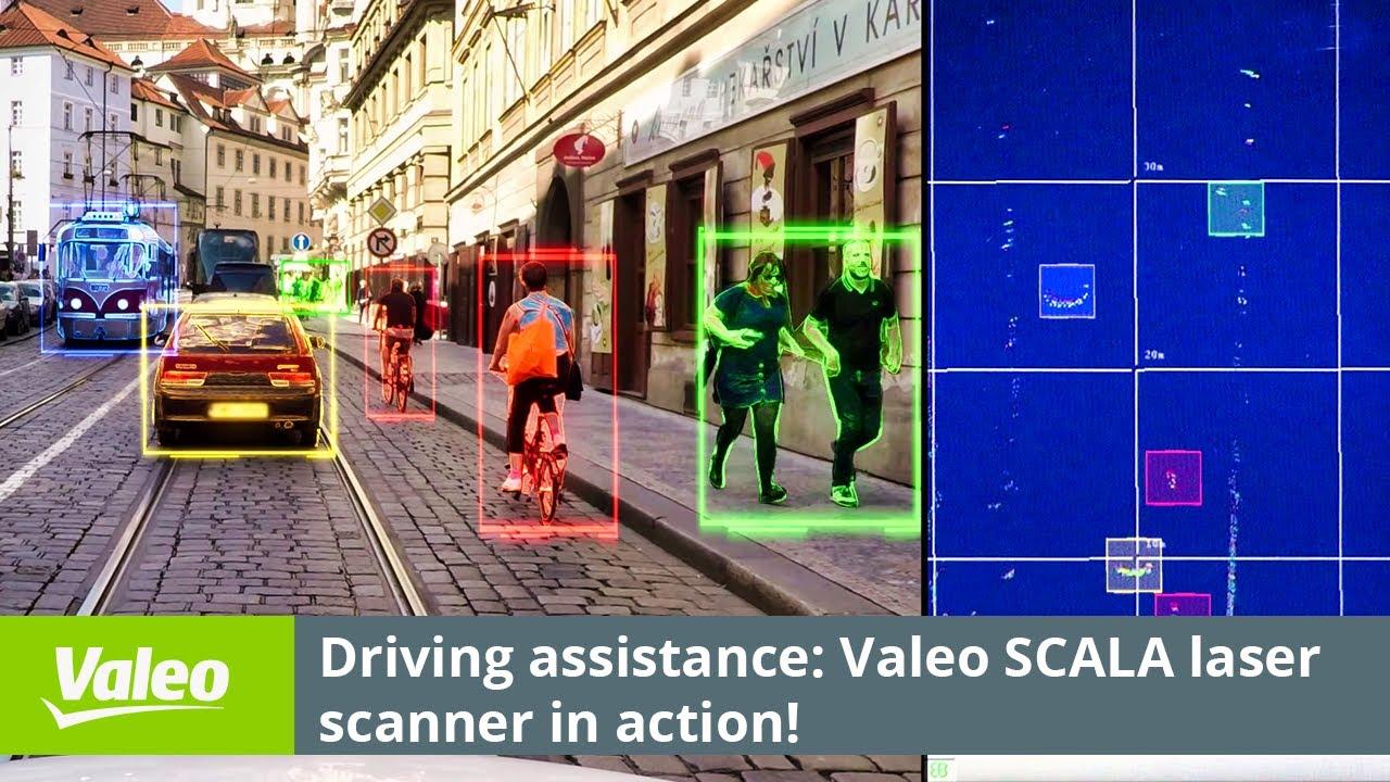 Valeo Scala Laser Scanner Youtube
