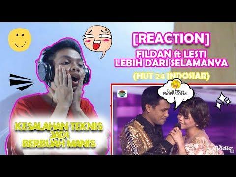 HEBOH! MIC MATI MALAH JADI MAHAKARYA INDAH | FILDAN ft LESTI | REACTION