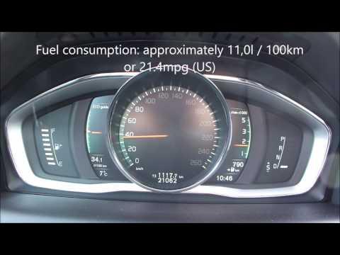 Volvo XC60 D5 AWD Fuel Consumption Test