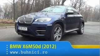 REVIEW - BMW X6M50d (www.buhnici.ro)