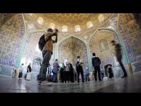 Sheikh Lotfollah Mosque, Isfahan, Iran (timelapse)