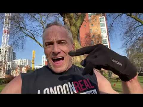 Coronavirus Post-Workout Speech AFTER 27 Minutes Of Shadow Boxing & 101 Burpees With Bas Rutten