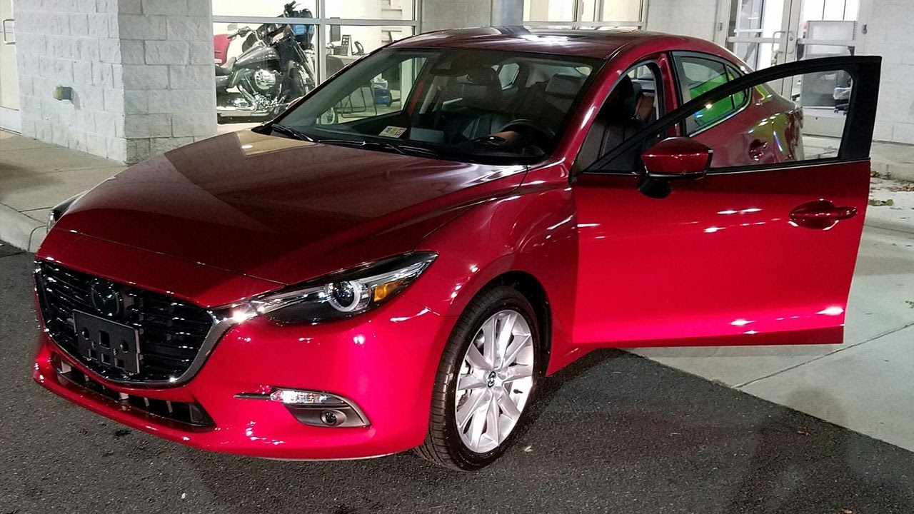 2017 Mazda3 Grand Touring 4 Door Soul Red
