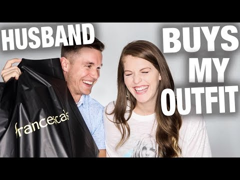 Super Sweet Husband Buys My Outfit Challenge!