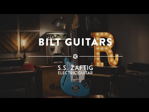 Bilt Guitars S.S. Zaftig | Reverb Demo Video