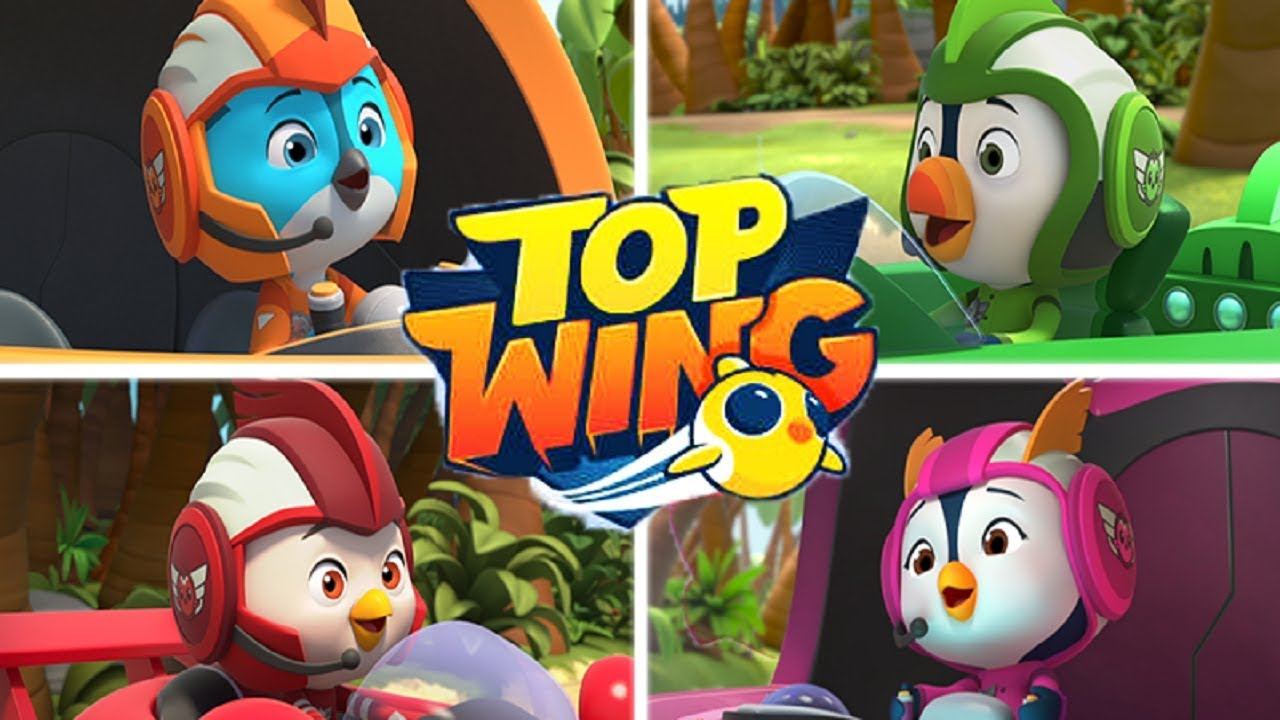 Top Wing To The Rescue New Nick Jr Cartoon Characters Coloring