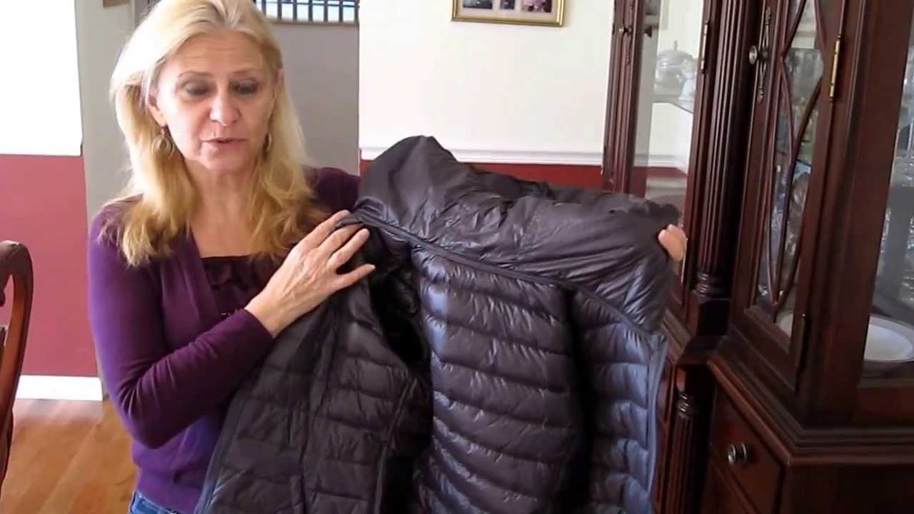 Nautica packable down jacket review - YouTube