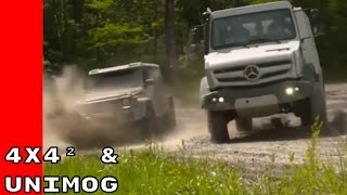 Mercedes G-Class 4x4² and Unimog U5030 Extreme Off-Roading
