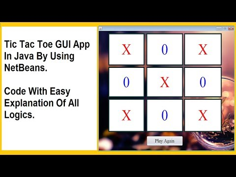 tic-tac-toe-in-java-by-using-netbeans-(logics-with-easy-explanation)-(part-2)