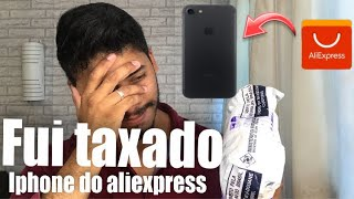 iPhone 7 do Aliexpress unboxing 2019