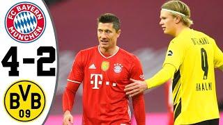 Бавария Боруссия Дортмунд 4 2 Обзор Матча Чемпионата Германии 06 03 2021 HD