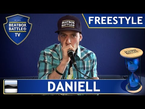 Daniell from Estonia - Freestyle - Beatbox Battle TV