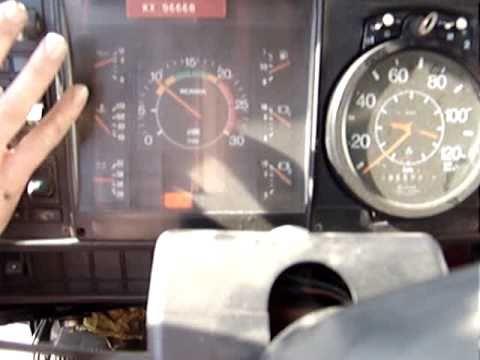 Scania 142M 400 Super V8 Sound  1982!!!