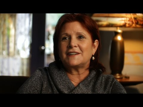 Carrie Fisher VLOG For Jenny Craig