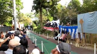 2012.10.9 流鏑馬(福岡市西区・飯盛神社)