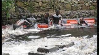 Oil spill blackened and fouls river in eastern Venezuela