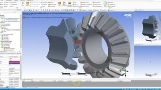 Ansys Workbench ile Dişli Analizi