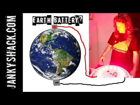 FREE POWER IN THE GROUND? Building and Testing an Earth Battery