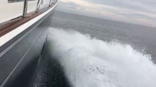 Sabre Yachts 66 Dirigo Hull#1 delivery from ME to FL