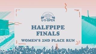 2018 Burton U·S·Open Women's Halfpipe Finals – Maddie Mastro's 2nd Place Run