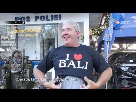 Cara Polisi Bali Mengapresiasi Turis yang Taat Peraturan